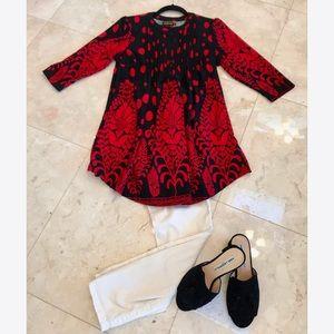 Reborn black & red tunic/dress! ❣️